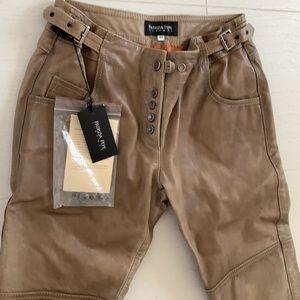 Patrizia Pepe Firenze 100% Leather Pants